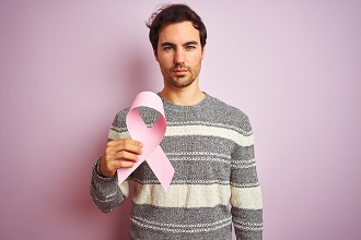 Male breast cancer study highlights the need for pioneering clinical trials